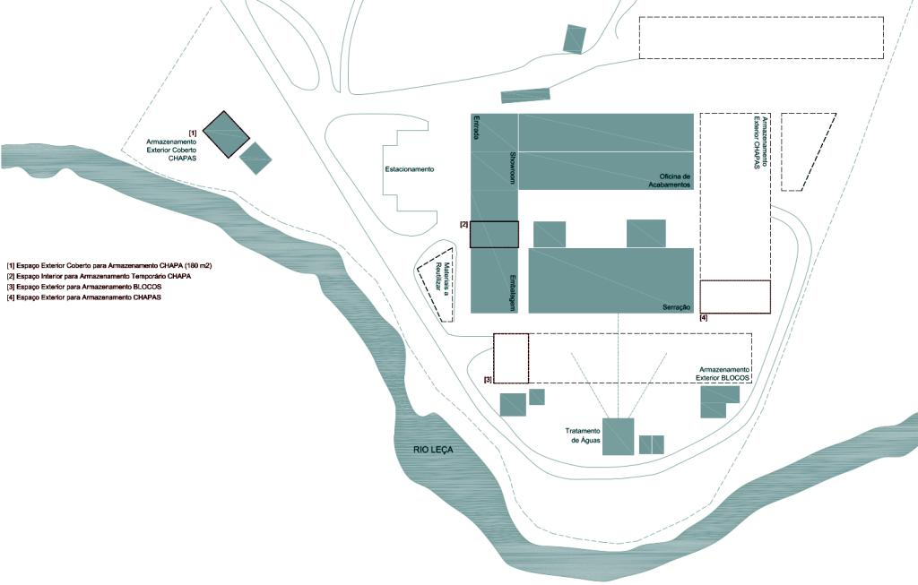Cooperativa dos Pedreiros - Instalações - Diagrama
